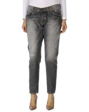 Повседневные брюки ANGELO MARANI. Цвет: желтый