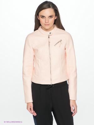 Куртка Vero moda. Цвет: бледно-розовый