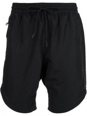 Классические плавательные шорты Publish. Цвет: чёрный