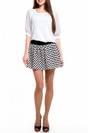 Платье Majaly. Цвет: черный, белый