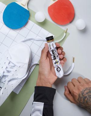 Crep Protect Плоские шнурки. Цвет: мульти