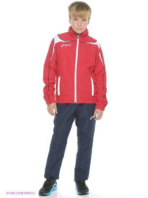 Костюм спортивный детский SUIT WORLD JR ASICS. Цвет: красный, синий