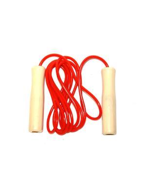 Скакалка Eleon. Цвет: красный, бежевый