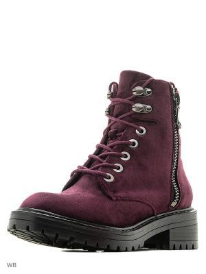 Ботинки S.OLIVER. Цвет: темно-фиолетовый