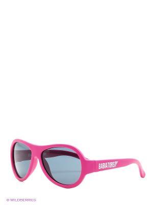 Солнцезащитные очки Babiators Original. Поп-звезда. Цвет: розовый