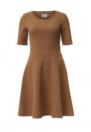 Платье Vero Moda. Цвет: коричневый