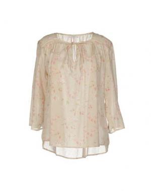 Блузка INTROPIA. Цвет: бежевый