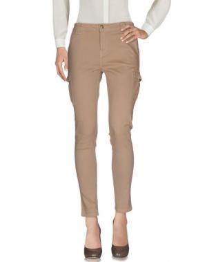 Повседневные брюки LUMBERJACK. Цвет: песочный