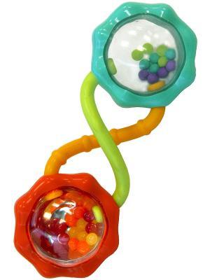 Развивающая игрушка Весёлые шарики BRIGHT STARTS. Цвет: голубой, оранжевый