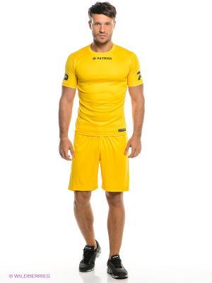 Футболка тренировочная Patrick. Цвет: желтый