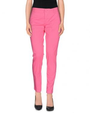 Повседневные брюки TROU AUX BICHES. Цвет: фуксия