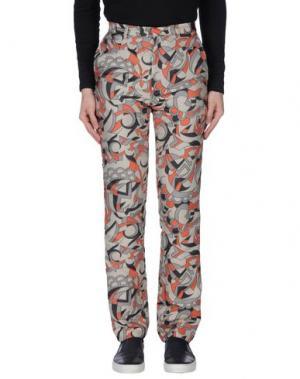Повседневные брюки DEVON HALF NIGHT LEFLUFY. Цвет: светло-серый