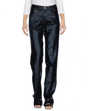 Джинсовые брюки LEROCK. Цвет: черный