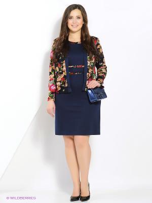Комплект одежды Полина. Цвет: синий, красный