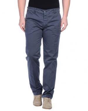 Повседневные брюки MASSIMO BRUNELLI. Цвет: свинцово-серый