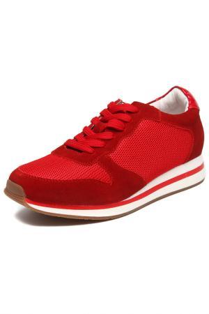 Кроссовки Keddo. Цвет: красный