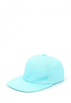 Бейсболка Button Blue. Цвет: голубой