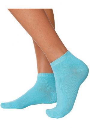 Короткие носки, 8 пар GO IN. Цвет: 2х темно-синий+2х темный деним+2х деним+2х голубой, 8х черный
