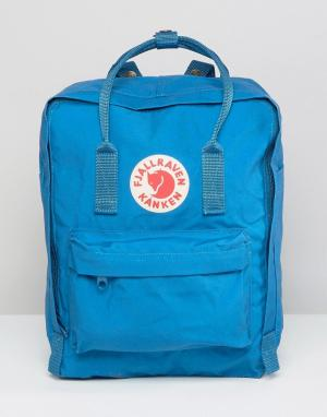 Fjallraven Синий рюкзак Kanken. Цвет: синий