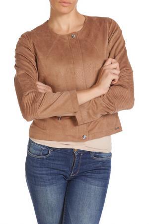 Куртка RINO & PELLE. Цвет: светло-коричневый