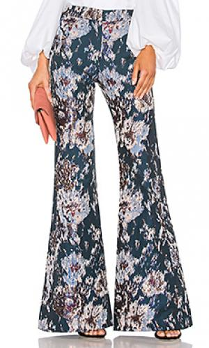 Расклешенные брюки emma Petersyn. Цвет: синий