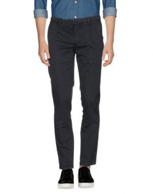 Повседневные брюки PIATTO. Цвет: грифельно-синий