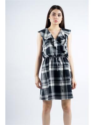 Платье с воланами BURLO