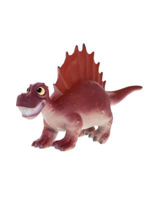 Игрушка фигурка мульт динозавр Спинозавр HGL. Цвет: коричневый