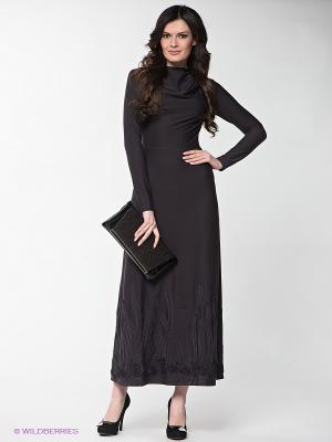 Платье Xarizmas. Цвет: темно-серый