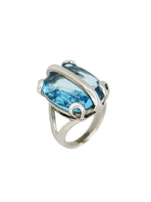 Кольцо Incognito.. Цвет: голубой