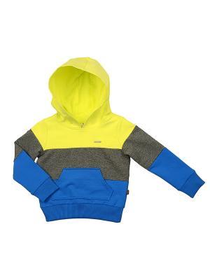 Худи Mini Maxi. Цвет: желтый