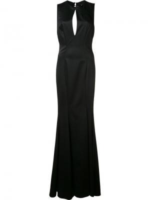 Вечернее платье Rosalie Zac Posen. Цвет: чёрный