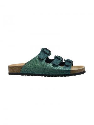 Пантолеты Lico. Цвет: зеленый