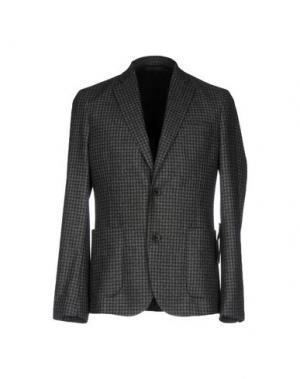 Пиджак J. LINDEBERG. Цвет: свинцово-серый