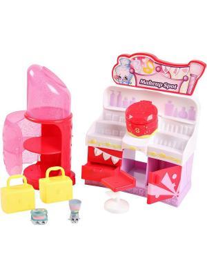 Эксклюзивный игровой набор Модная лихорадка  Место для макияжа Moose. Цвет: розовый