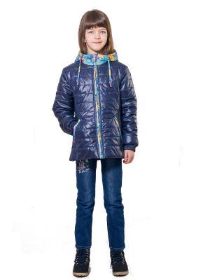 Куртка SAIMA. Цвет: синий, бирюзовый