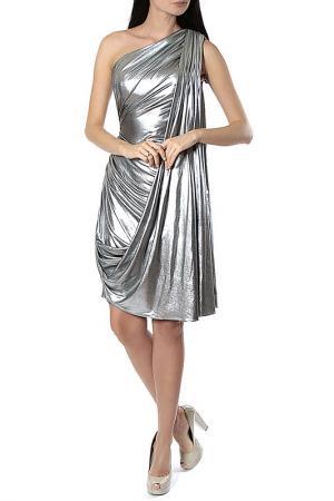 Платье Aftershock. Цвет: black silver