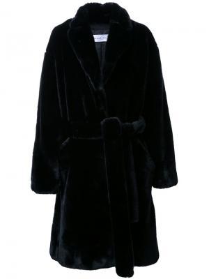 Пальто Ben Wanda Nylon. Цвет: чёрный