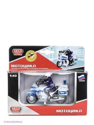 Мотоцикл Дпс Технопарк. Цвет: белый, синий