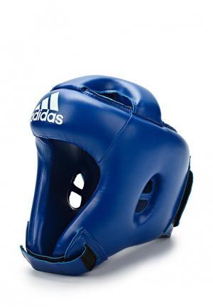 Шлем боксерский adidas Combat. Цвет: синий
