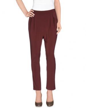 Повседневные брюки MANILA GRACE. Цвет: какао