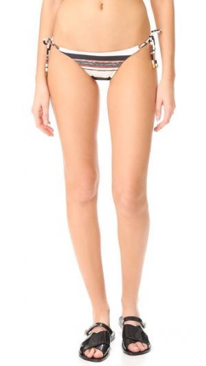 Плавки Thai с длинными завязками ViX Swimwear. Цвет: белый