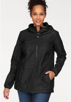 Куртка POLARINO. Цвет: черный