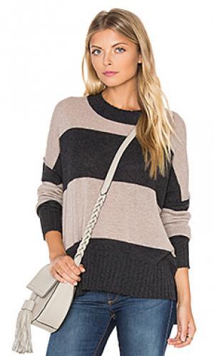 Полосатый свитер из кашемира toni 360 Sweater. Цвет: уголь