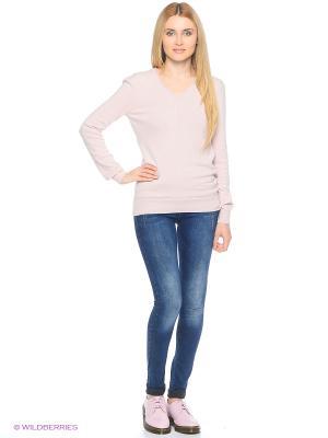 Пуловер Colin's. Цвет: розовый