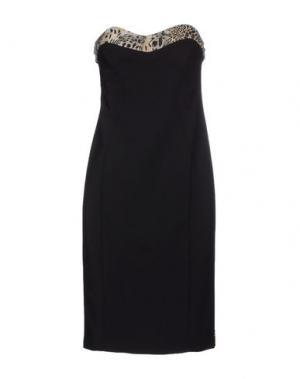 Короткое платье MRESALE. Цвет: черный
