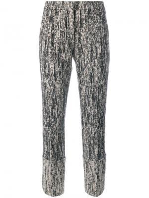 Укороченные брюки Dorothee Schumacher. Цвет: чёрный