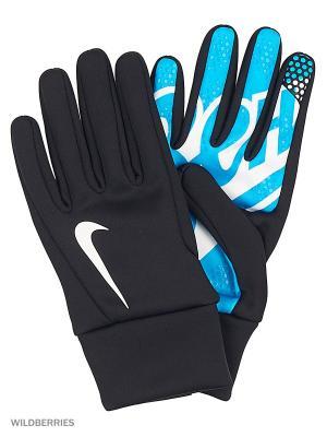 Перчатки ZENIT HYPERWARM GLOVE Nike. Цвет: серый