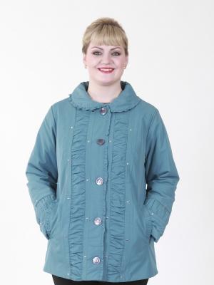 Куртка Селия VIKO. Цвет: бирюзовый