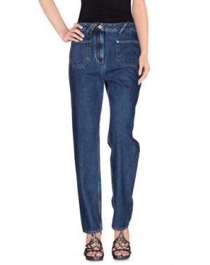 Джинсовые брюки COURRÈGES. Цвет: синий